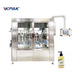 Riempitrice automatica di sapone liquido con servoazionamento lineare