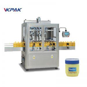 Linea automatica di riempimento e raffreddamento vaselina